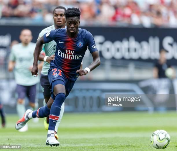 Paris Saint Germain V Estac Troyes Ligue 1: Timothy Weah ストックフォトと画像