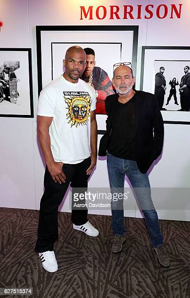 """Timothy White and Darryl """"DMC"""" McDaniels attends An Evening Of Hip Hop With A Performance By Darryl """"DMC"""" McDaniels on December 3, 2016 in Miami,..."""