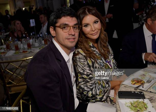 Timur Tillyaev and Lola KarimovaTillyaeva attend Fashion 4 Development's 9th Annual Official First Ladies Luncheon at The Pierre Hotel on September...