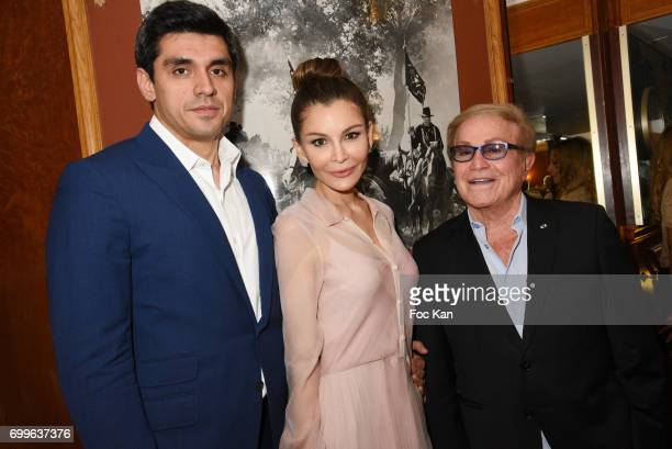Timur Tillyaev LolaKarimova Tillyaeva and Orlando attend 'Ulugh Beg The Man Who Unlocked the Universe ' Screening Cocktail at Club 13 and Dinner at...