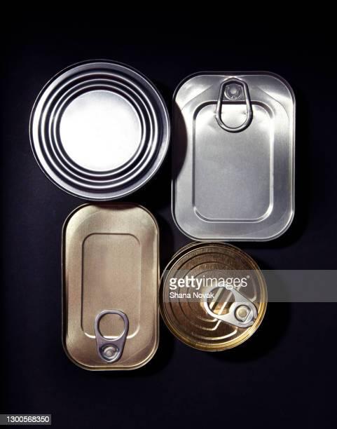 """tin can assortment - """"shana novak"""" stock pictures, royalty-free photos & images"""