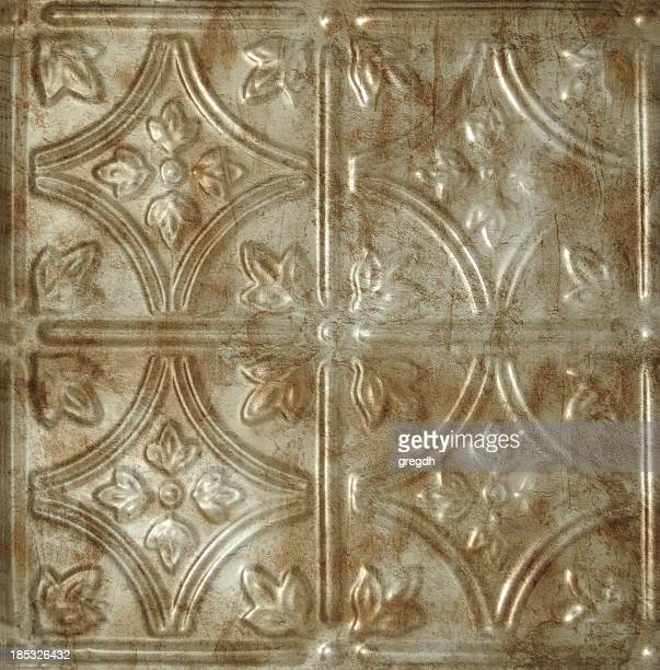 tin ceiling tile - ceiling stock pictures, royalty-free photos & images