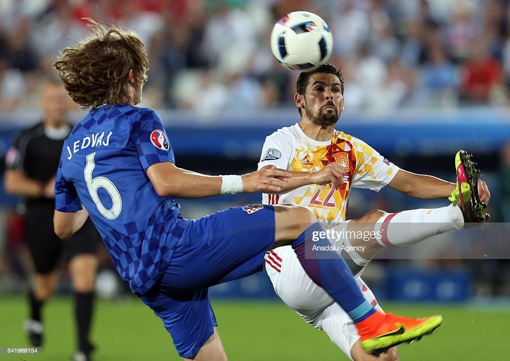 Croatia v Spain - EURO 2016 : News Photo