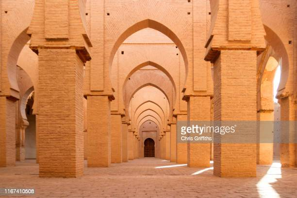 tin mal mosque architecture, southern morocco - maroc photos et images de collection