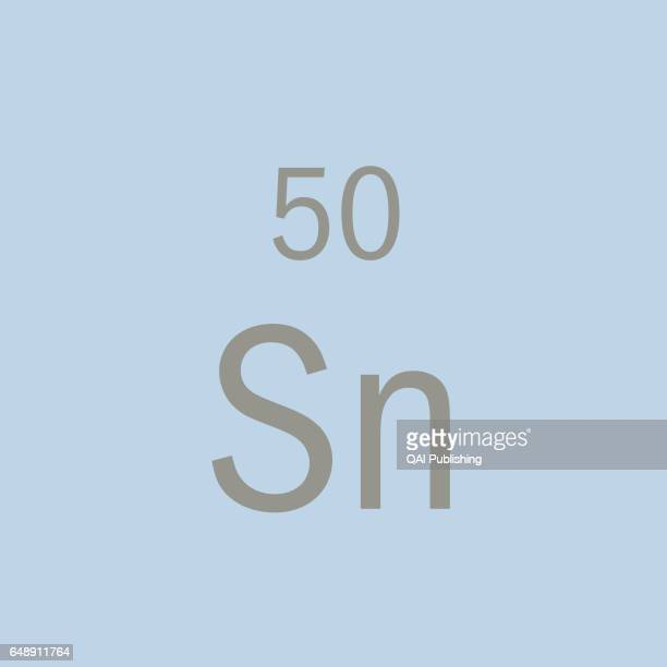 Tin on the periodic table stock photos and pictures getty images tin metal that is used especially as an anticorrosive for copper and steel and as a urtaz Gallery