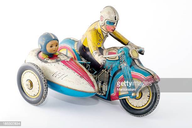 Estaño juguetes: Motocicleta