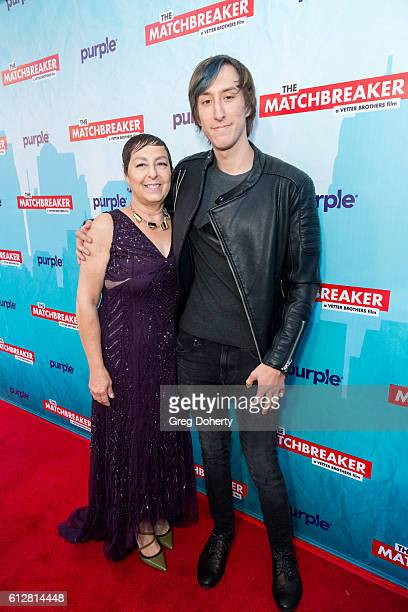 """Tina and Mark Grimmie arrive for the Red Carpet Premiere Of Stadium Media's """"The Matchbreaker"""" at the ArcLight Cinemas Cinerama Dome on October 4,..."""