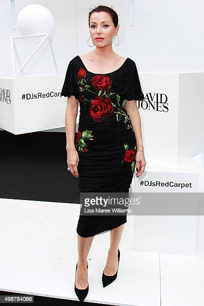 Tina Arena arrives ahead of the ARIA Awards 2015 at The Star on November 26 2015 in Sydney Australia