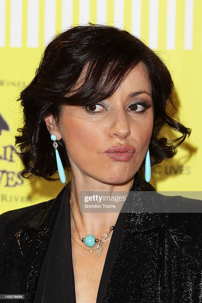 Tina Arena arrives at the 2012 APRA Music Awards at the Sydney Convention & Exhibition Centre on May 28, 2012 in Sydney, Australia.