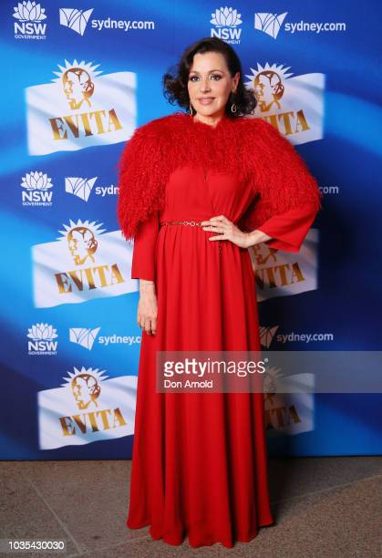 Tina Arena attends opening night of Evita at Sydney Opera House on September 18 2018 in Sydney Australia