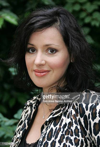 Tina Arena during Paris Haute Couture Fashion Week Fall/Winter 2005 JeanLouis Scherrer Arrivals at Pavillon Ledoyen in Paris France