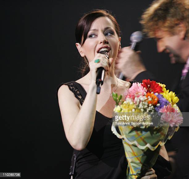 Tina Arena during The 2006 Night of The Proms at Nikaia in Nice France