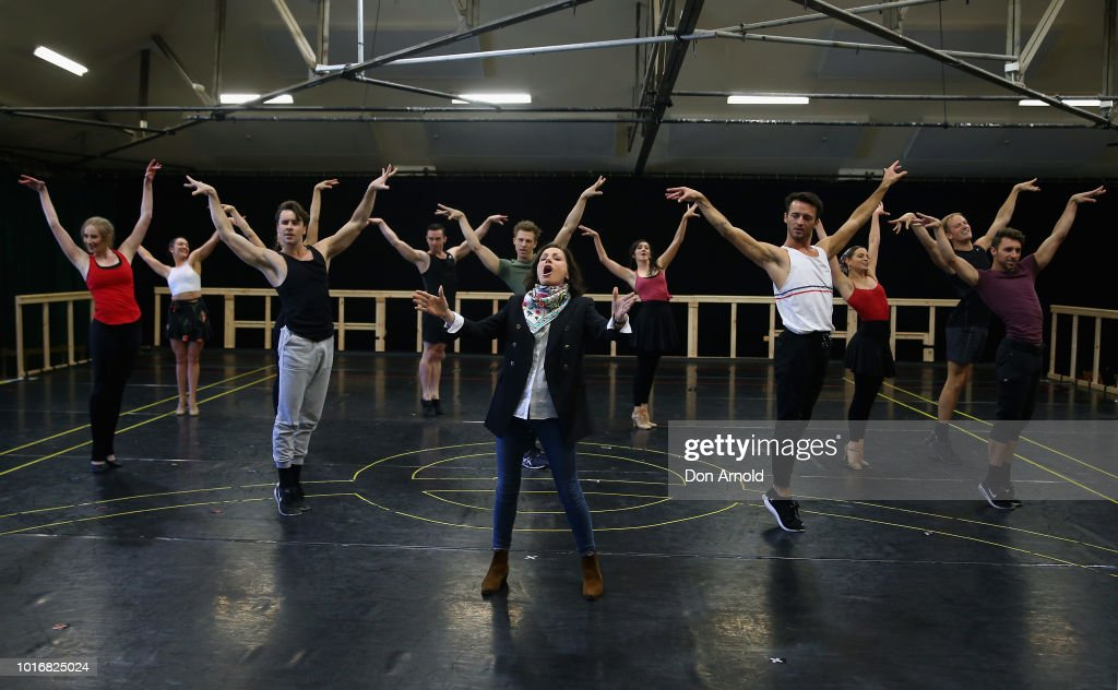 Evita The Musical Rehearsals