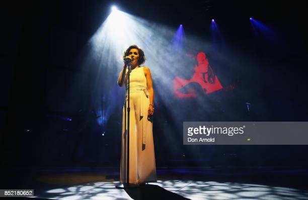 Tina Arena performs at ICC Sydney Theatre on September 23 2017 in Sydney Australia