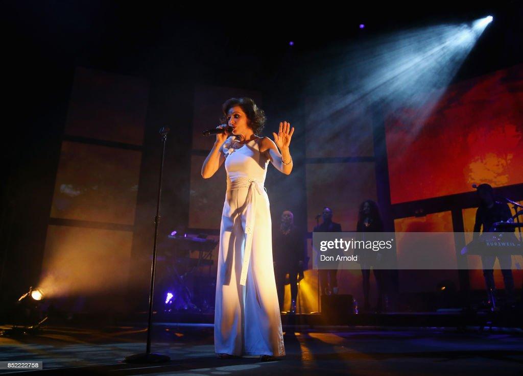 Tina Arena 'Innocence To Understanding' Tour - Sydney