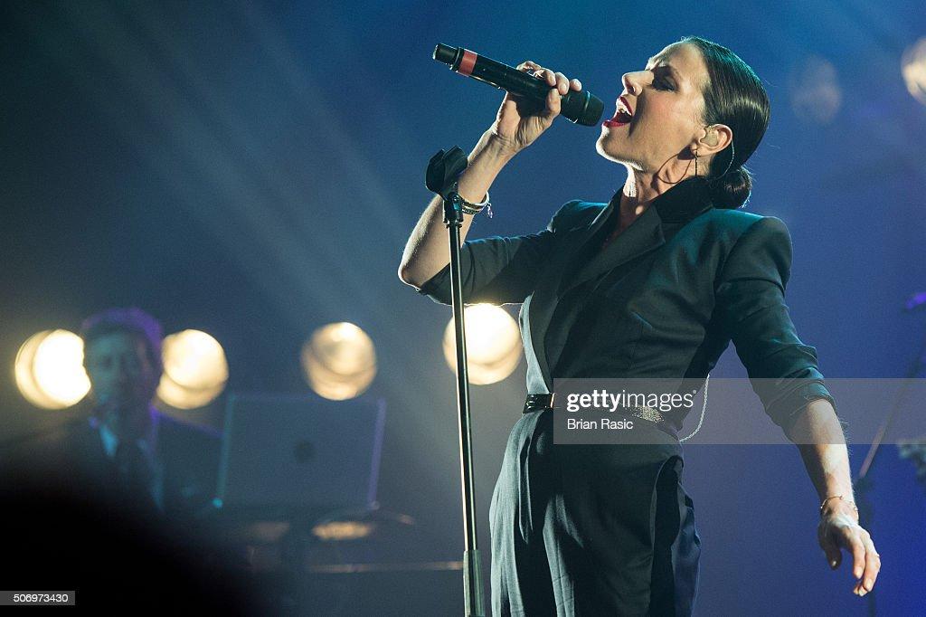 Tina Arena Performs At The O2 Forum Kentish Town