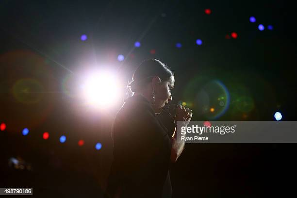 Tina Arena performs during the 29th Annual ARIA Awards 2015 at The Star on November 26 2015 in Sydney Australia