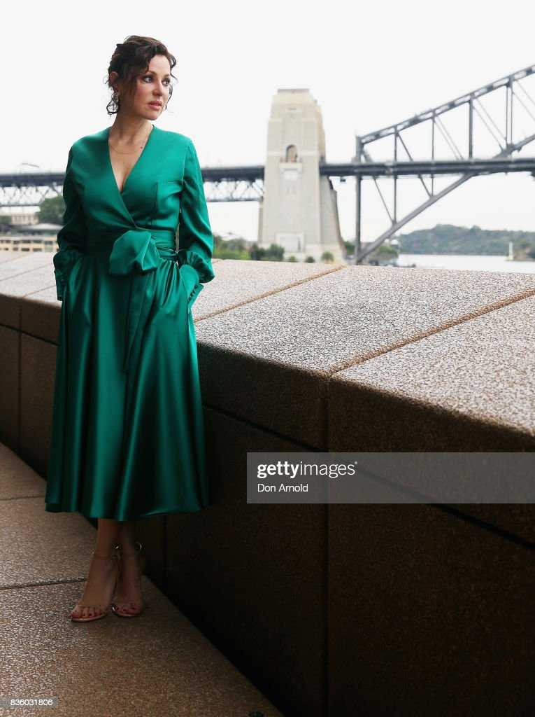 Tina Arena poses during the cast announcement for the upcoming production of EVITA at Sydney Opera House on August 21, 2017 in Sydney, Australia.