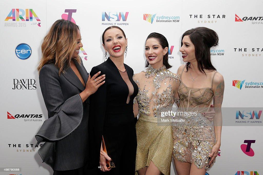 29th Annual ARIA Awards 2015 - Awards Room