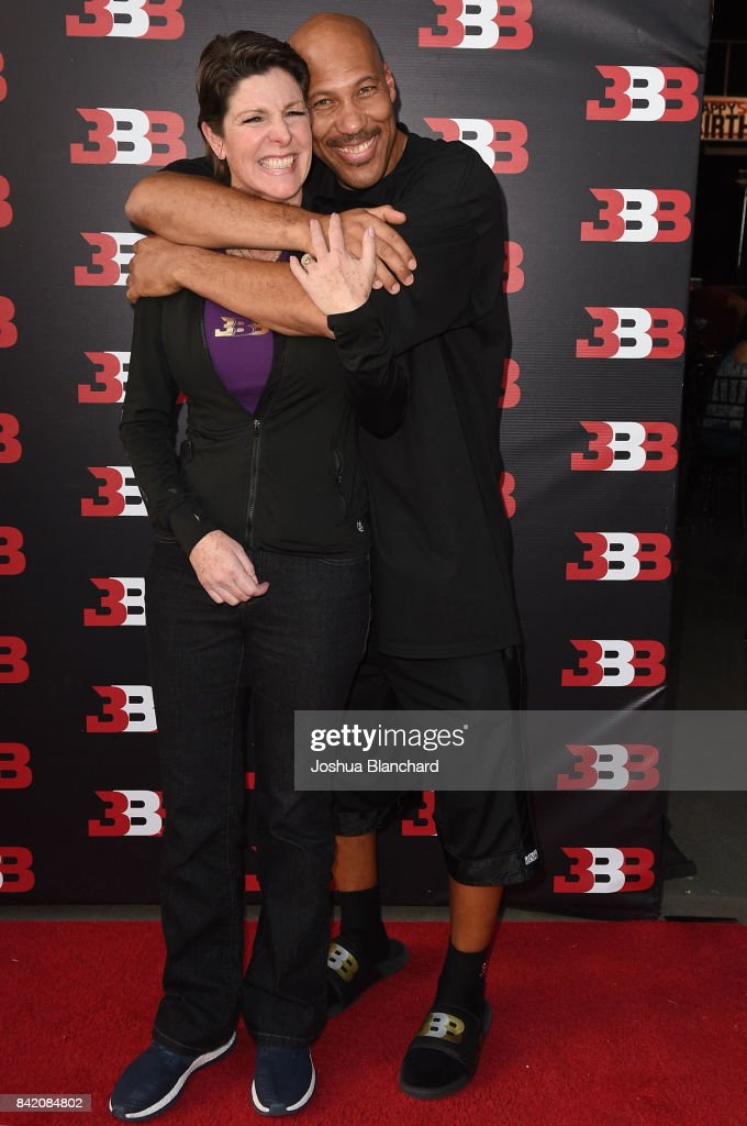 Tina Ball (L) and LaVar Ball attend Melo Ball's 16th Birthday on September 2, 2017 in Chino, California.