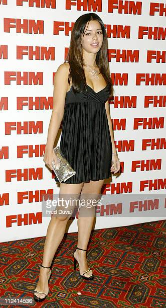 Tina Barrett during FHM Top 100 Sexiest Women 2004 at Guild Hall in London Great Britain