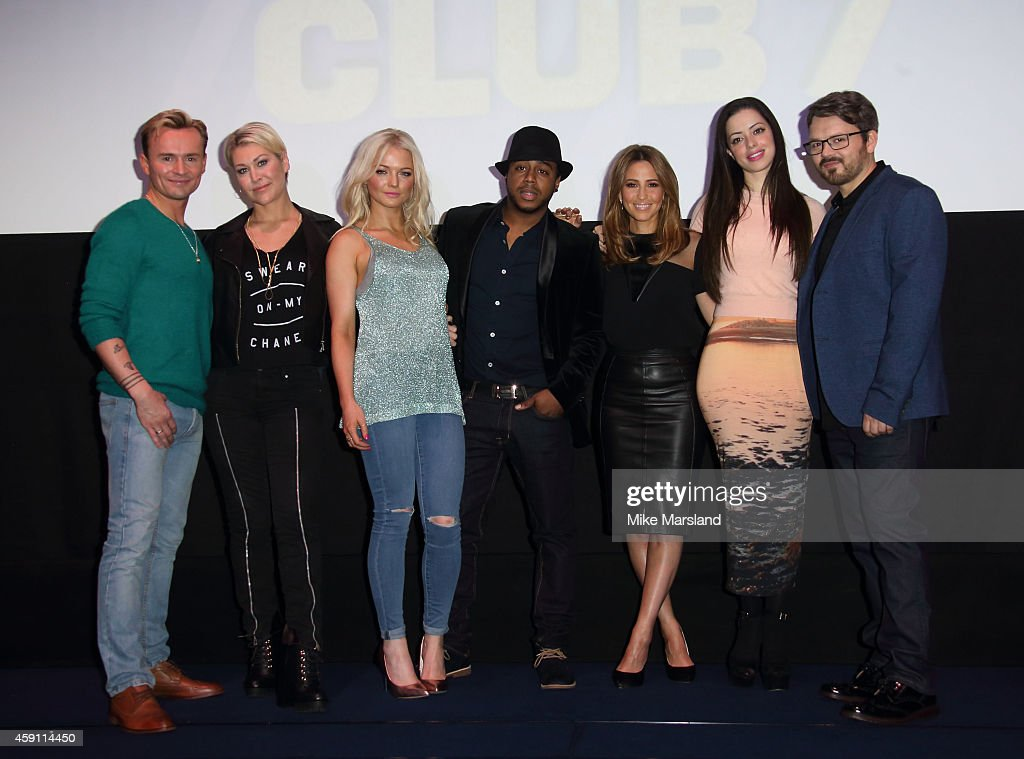 S Club 7 Press Conference : News Photo
