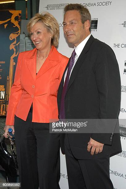 Tina Brown and Henry Winterstern attend THE CINEMA SOCIETY presents the NY Premiere of First Look Pictures' THE PROPOSITION at IFC Center on April...
