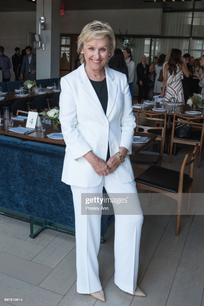 Tina Brown attends Special Women's Power Lunch Hosted by Tina Brown at Spring Place on June 19, 2017 in New York City.