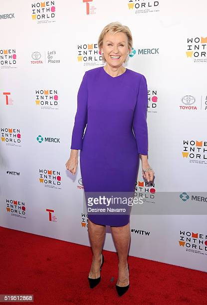 Tina Brown attends the 7th Annual Women In The World Summit Opening Night at David H Koch Theater at Lincoln Center on April 6 2016 in New York City