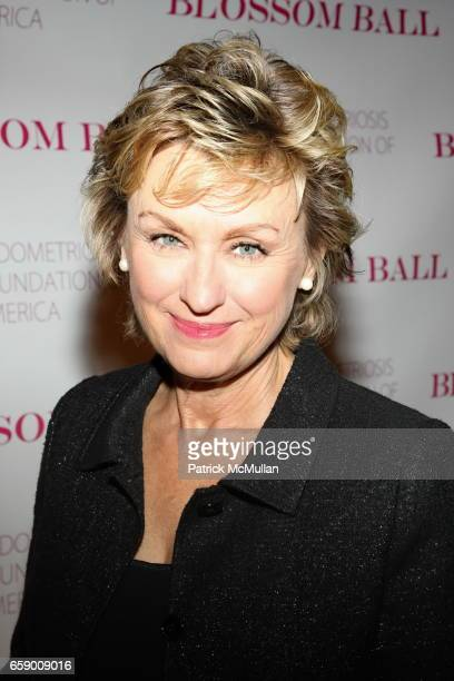 Tina Brown attends The BLOSSOM BALL To Benefit The Endometriosis Foundation of America at The Prince George Ballroom on April 20 2009 in New York City