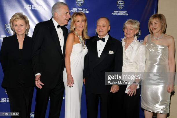 Tina Brown Carl Icahn Gail Icahn Commissioner Raymond Kelly Veronica Kelly and Valerie Salembier attend NEW YORK CITY POLICE FOUNDATION 32nd Annual...