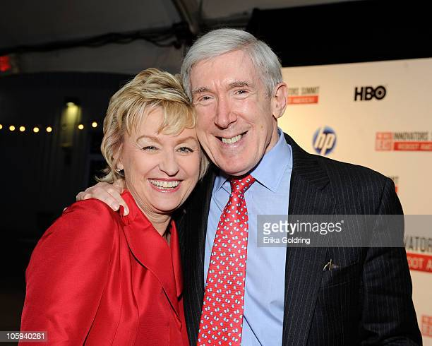 Tina Brown Cofounder and EditorinChief of The Daily Beast and Robert Hormats Under Secretary for Economic Energy and Agricultural Affairs attend The...