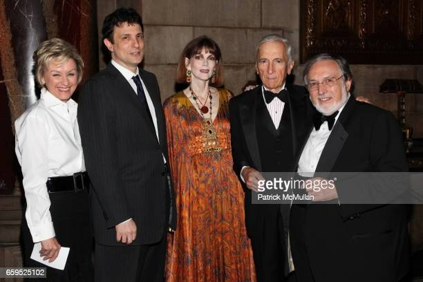 Tina Brown David Remnick Norris Church Mailer Gay Talese and Larry Schiller attend The First Annual NORMAN MAILER Writers Colony Benefit Gala at...