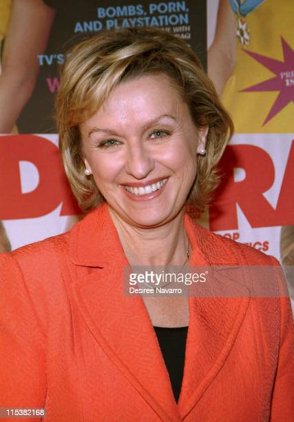 Tina Brown during Radar Magazine Launch at Hotel QT in New York City New York United States