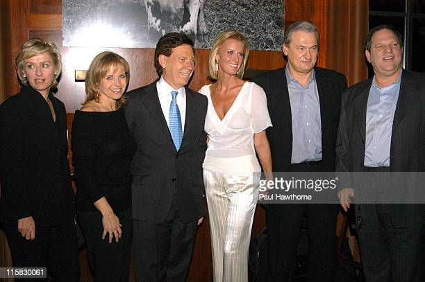 Tina Brown Katie Couric Peter Price Sandra Lee Jack Kliger and Harvey Weinstein