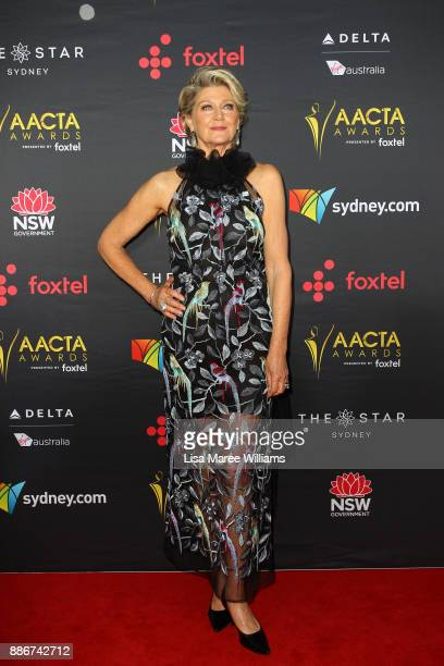 Tina Bursill attends the 7th AACTA Awards Presented by Foxtel | Ceremony at The Star on December 6 2017 in Sydney Australia