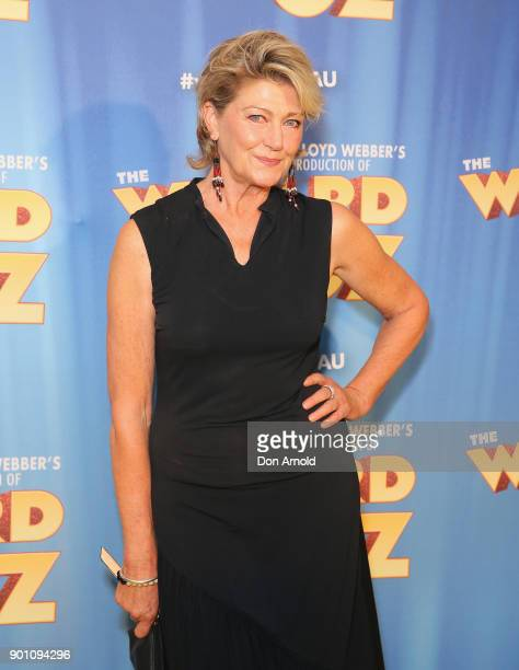 Tina Bursill attends The Wizard of Oz Sydney Premiere at Capitol Theatre on January 4 2018 in Sydney Australia