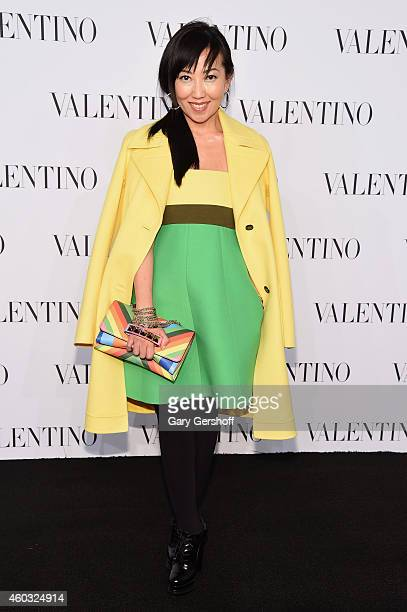 Tina Craig attends the Valentino Sala Bianca 945 Event on December 10 2014 in New York City