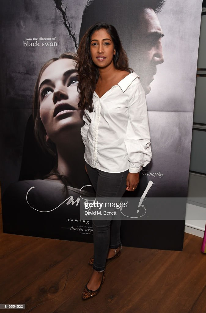 Tina Daheley attends a screening of 'mother!' hosted by Collette Cooper and Paramount Pictures in collaboration with Edible Cinema at The Soho Hotel on September 13, 2017 in London, England.