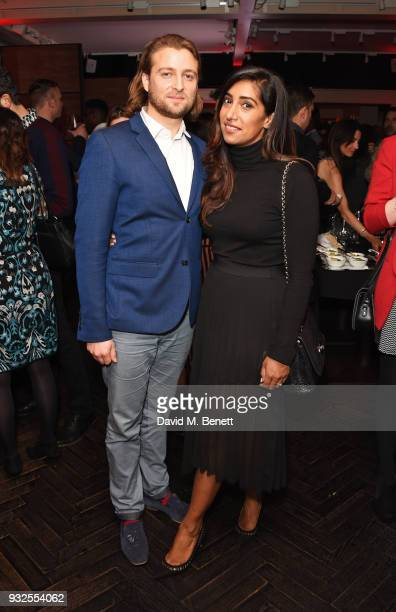 Tina Daheley attends an after party following the Global Premiere of 'Deep State' the new espionage thriller from FOX at The Mandrake on March 15...