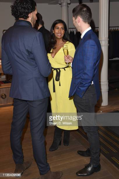 Tina Daheley attends the launch of the Whole Man Academy at Gieves Hawkes on March 12 2019 in London England