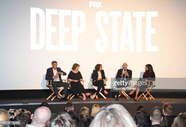 Tina Daheley speaks with Showrunner/CoCreator Matthew Parkhill Executive Producer Hilary BevanJones Sara Johnson VP of Scripted Drama FNG Europe...