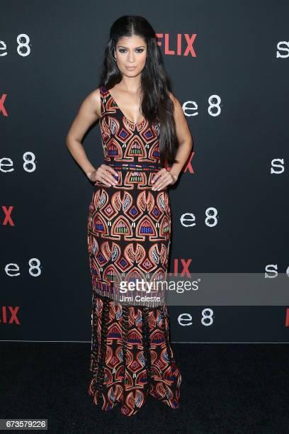 Tina Desai attend the Season 2 Premiere of Netflix's Sense8 at AMC Lincoln Square Theater on April 26 2017 in New York City