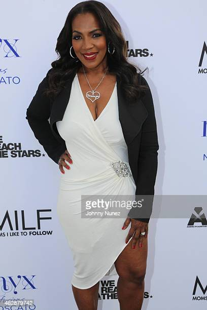 Tina Douglas attends MILF Celebration Of Entertainment Mothers on February 6 2015 in Beverly Hills California