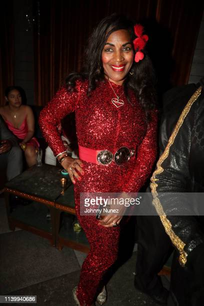 Tina Douglas attends Shia's 30th Birthday Celebration at The Magic Hour on March 30 2019 in New York City