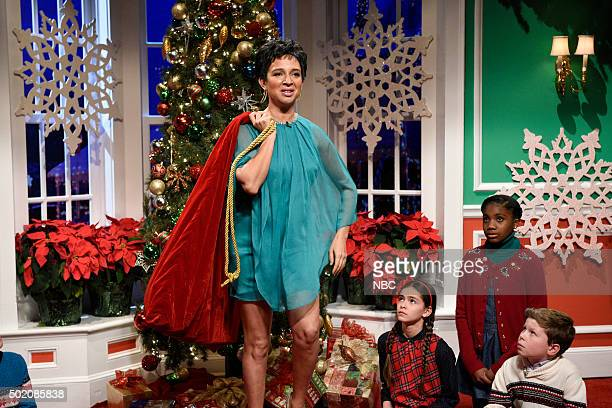 LIVE 'Tina Fey and Amy Poehler' Episode 1692 Pictured Maya Rudolph during the 'Special Offer' sketch on December 19 2015