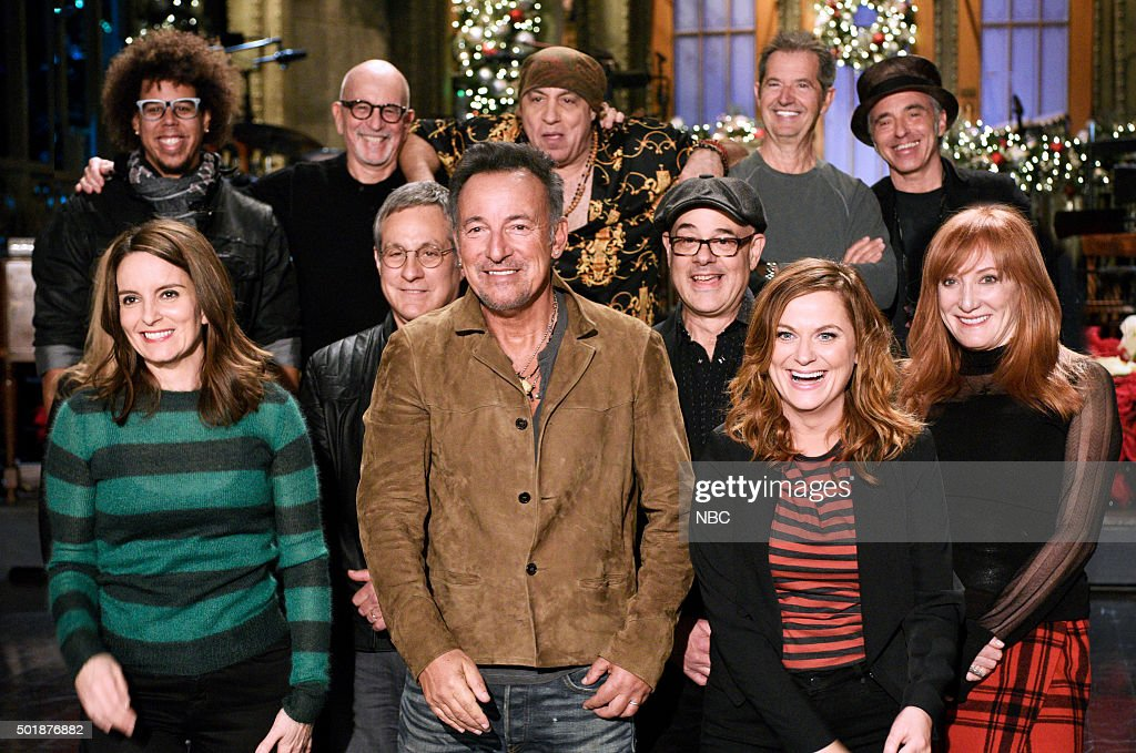 "NBC's ""Saturday Night Live"" with guests Tina Fey, Amy Poehler, Bruce Springsteen"