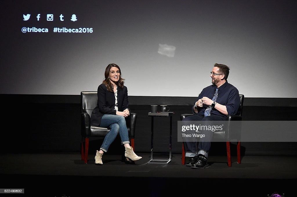 Tribeca Talks Storytellers: Tina Fey With Damian Holbrook