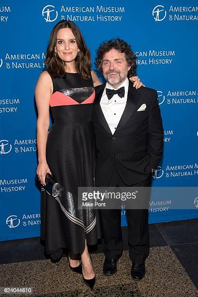 Tina Fey and husband Jeff Richmond attends the 2016 American Museum Of Natural History Museum Gala at American Museum of Natural History on November...