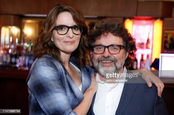 """Tina Fey and Jeff Richmond attend """"Mean Girls"""" celebrating 1 year on Broadway at August Wilson Theatre on April 09, 2019 in New York City."""